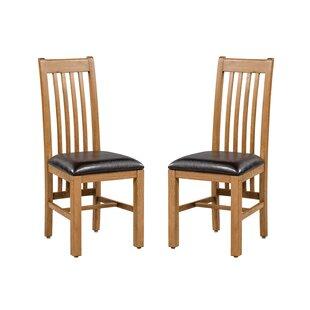 Loon Peak Covarrubias Upholstered Dining Chair (Set of 2)