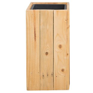 Sykia Wooden Planter Box By Freeport Park