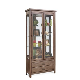 Darby Home Co Jersey Curio Cabinet