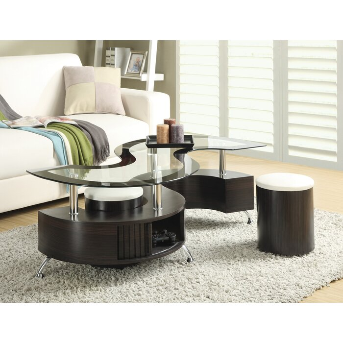 Milivoje Coffee Table with Storage