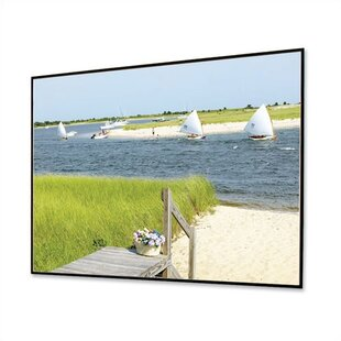 HiDef GreyA Clarion Fixed Frame Projection Screen