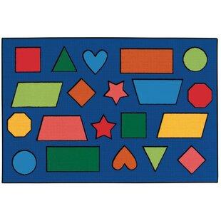Deals Color Shapes Kids Rug ByKids Value Rugs
