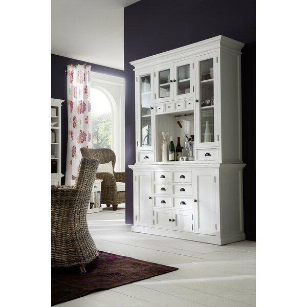 kitchen china cabinet.  Beachcrest Home Amityville Kitchen China Cabinet Reviews Wayfair