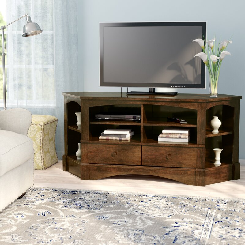 Pinellas Corner Tv Stand For Tvs Up To 60 Reviews Joss Main