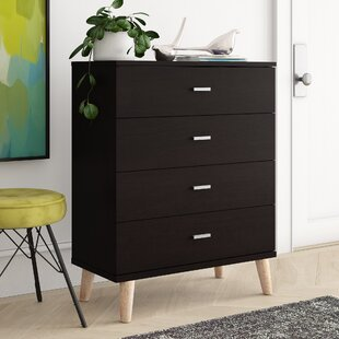 Inexpensive Grosso 4 Drawer Chest by Wrought Studio