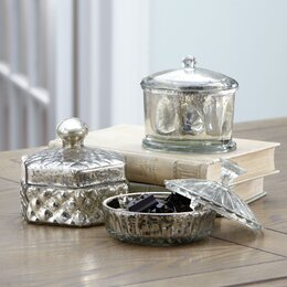 storage jars containers - Bathroom Accessories Decor