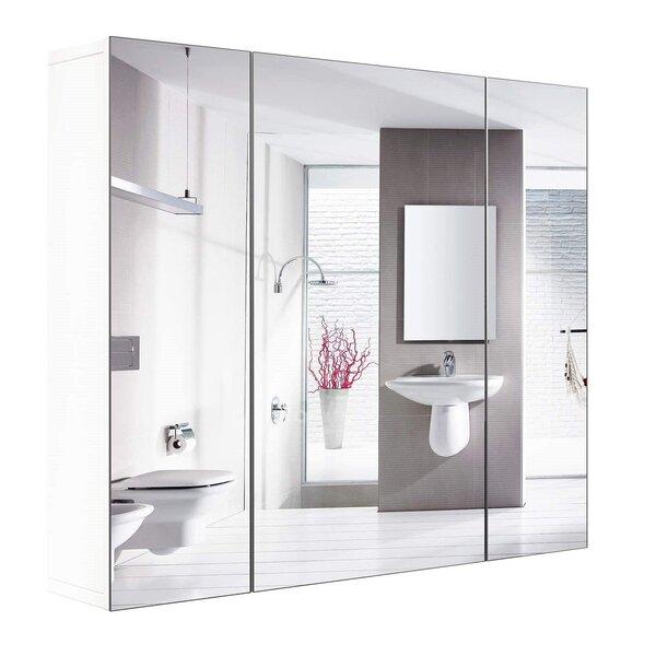 Bathroom Mirror With Storage Wayfair