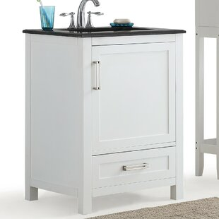 Read Reviews Evan 25 Single Bathroom Vanity Set BySimpli Home