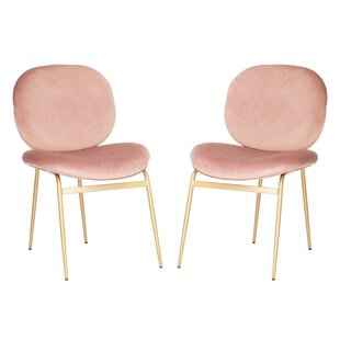 Read Reviews Vilonia Upholstered Dining Chair (Set of 2) by Everly Quinn Reviews (2019) & Buyer's Guide