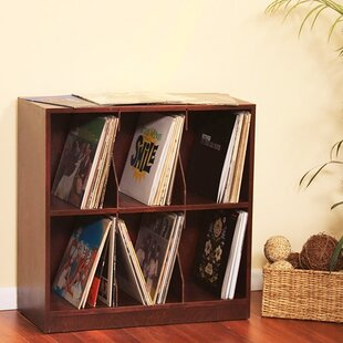 Bon Multimedia Record Tabletop Storage