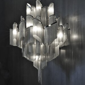 Stream 18-Light Waterfall Chandelier