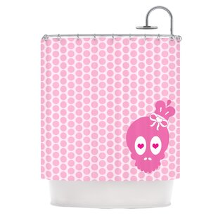 Skull Single Shower Curtain