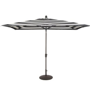 Wieczorek Auto Tilt 10' x 6.5' Rectangular Market Umbrella by Breakwater Bay