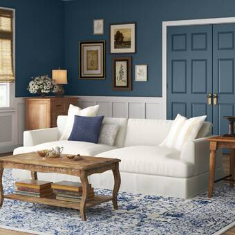Adda 84 Square Arm Sofa Reviews Birch Lane