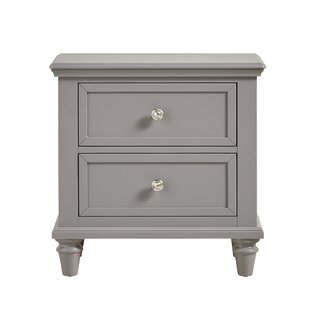 Isabella 2 Drawer Nightstand