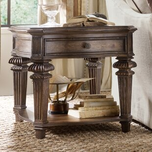 Hooker Furniture Rhapsody End Table with Storage