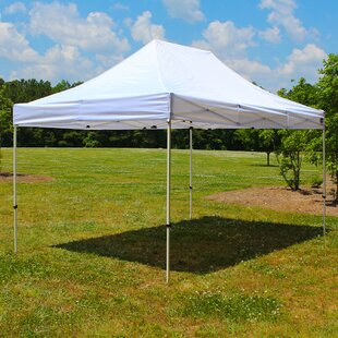 Festival Instant 10 Ft. W x 15 Ft. D Steel Pop-Up Canopy by King Canopy