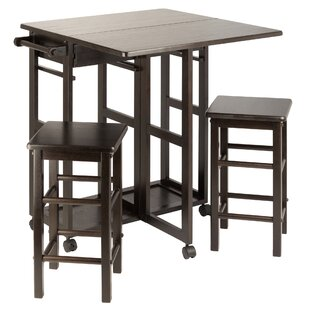 Guyer Kitchen Island Set Winston Porter