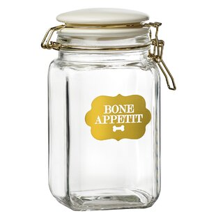 1.68 qt. Pet Treat Jar