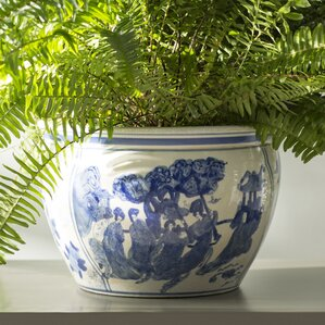 christien chinese porcelain pot planter
