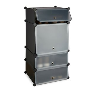 8 Pair Shoe Cabinet By Symple Stuff