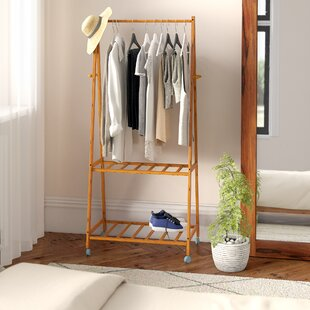 Makayla 73.5cm Wide Garment Rack By Natur Pur