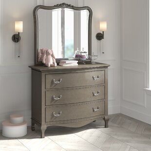 Find for Platte 3 Drawer Dresser with Mirror by Greyleigh Reviews (2019) & Buyer's Guide