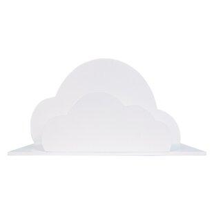 Riedel Cloud 12 Floating Shelf by Harriet Bee