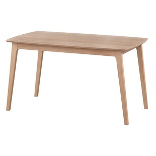 Grow Solid Wood Dining Table George Oliver