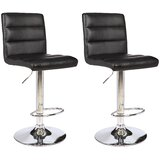Thuringowa Series Adjustable Height Swivel Bar Stool (Set of 2) by Orren Ellis