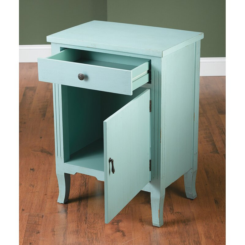 Alcott Hill Kaysen End Table With Storage Wayfair
