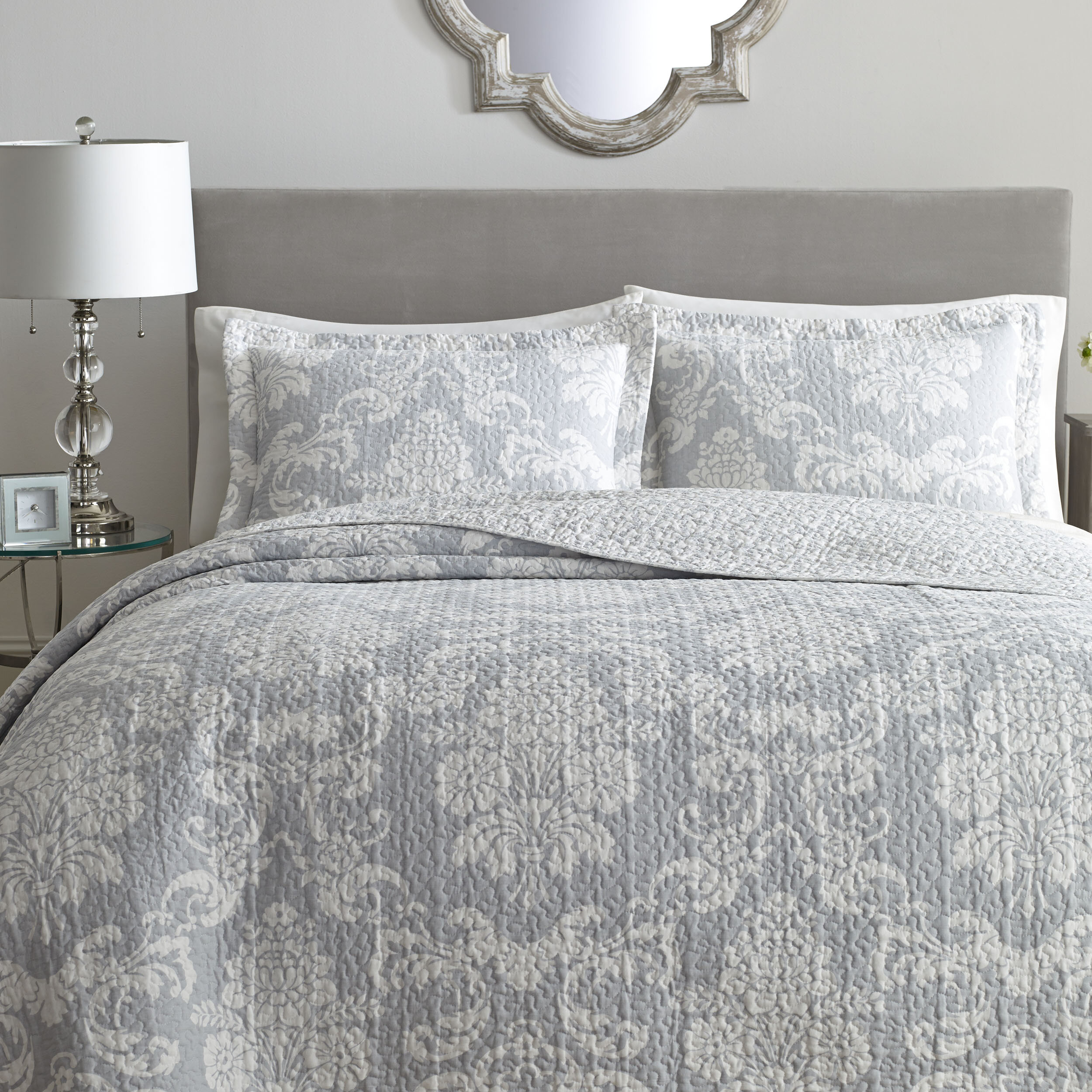 Laura Ashley Venetia 100% Cotton Reversible Quilt Set By Laura Ashley Home  U0026 Reviews | Wayfair