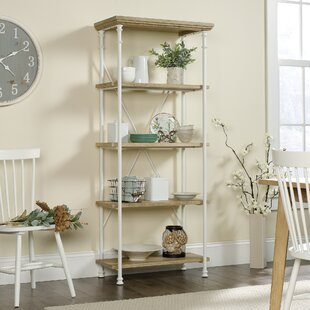 Three Posts Oakside Etagere Bookcase