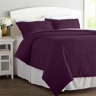 Merveilleux Dark Purple Bedding Sets | Wayfair