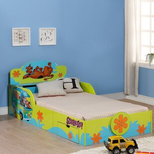 Price comparison Scooby Doo Kid's Twin Platform Bed with Storage by O'Kids Inc. Reviews (2019) & Buyer's Guide
