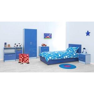 5-tlg. Schlafzimmermöbel-Set Chaz von Viv + Rae