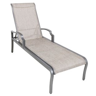 Konevsky Poolside Sling Reclining Chaise Lounge by Red Barrel Studio