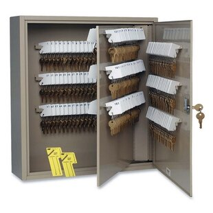 Key Cabinet, 240 Key Capacity, 16-1/2x4-7/8x20-1/8, Sand by MMF Industries