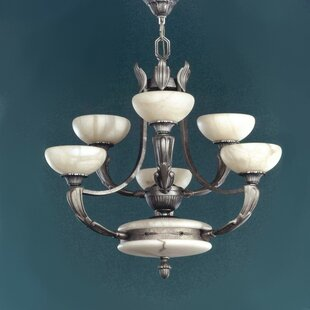 Zanin Lighting Inc. Osma 6-Light Shaded Chandelier