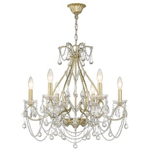 Frey 6-Light Candle Style Chandelier