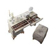 Vanity Set with Stool by Hispania Home