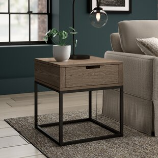 Price Check Jerri End Table With Storage By Greyleigh