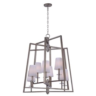 Mercer41 Villers 8-Light Shaded Chandelier
