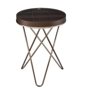 Purcellville End Table with St..