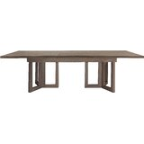 Palmer Butterfly Leaf Teak Solid Wood Dining Table by Brownstone Furniture