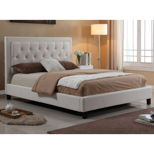 Willa Arlo Interiors Dinis Diamond Headboard Upholstered Platform Bed