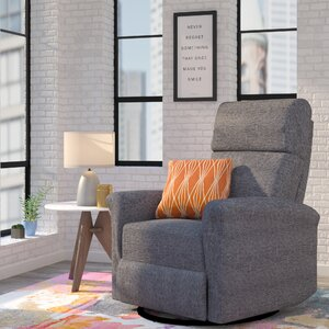 Beckham Manual Swivel Glider Recliner