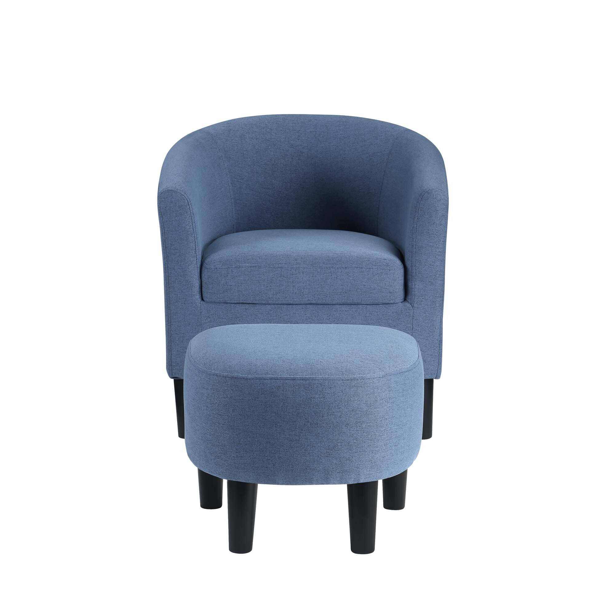 Microfiber Ottoman Included Accent Chairs You Ll Love In 2021 Wayfair