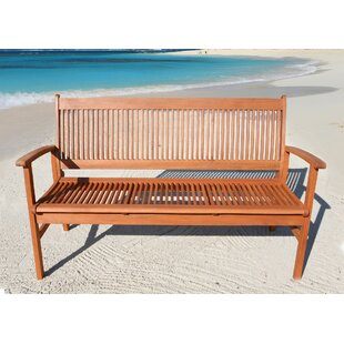 Beasley Garden Bench Made Of Solid Wood By Alpen Home