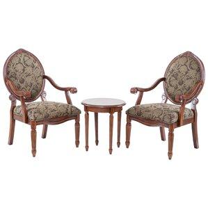 Cornelli 3 Piece Armchair Set by Astoria Grand